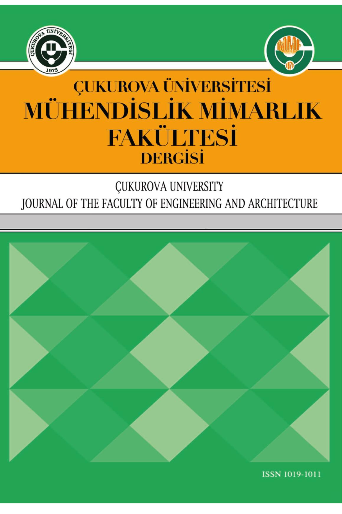Çukurova Üniversitesi Mühendislik-Mimarlık Fakültesi Dergisi