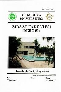 Çukurova Üniversitesi Ziraat Fakültesi Dergisi